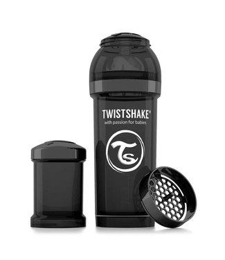 Twistshake TwistShake baby bottle anti-colic 260 ml - Black