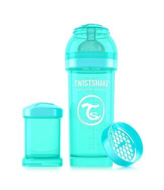 Twistshake TwistShake biberon anti-colique 260 ml - turquoise
