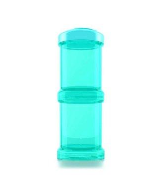 Twistshake TwistShake container 2 x 100 ml - Turquoise