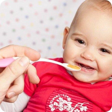 Difrax Roze lepels voor babyvoeding Difrax