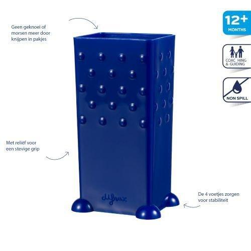 Difrax Blauwe pakjeshouder Difrax