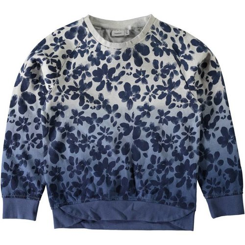 Name-it Name-it blauwe sweater NITHIAM