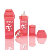 TwistShake babyfles antikoliek 260 ml - perzik