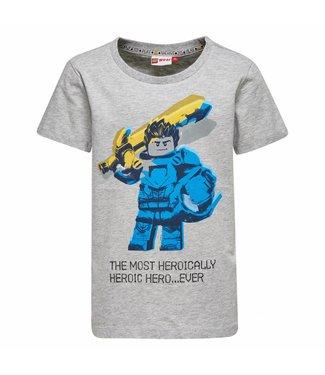 Lego wear Grijze tshirt TEO Lego Knexo knights hero Legowear