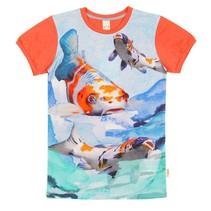 Wild kidswear jongens tshirt Army Koi vissen