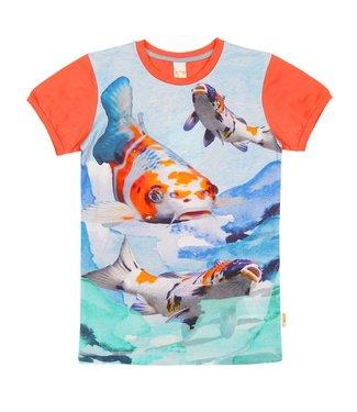 Wild kidswear T-shirt de garçons d'enfants sauvages Koi de l'armée