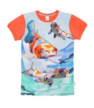 Wild kidswear Wild kidswear boys tshirt Army Koi fish