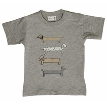 Hust & Claire jongens tshirt with dogs
