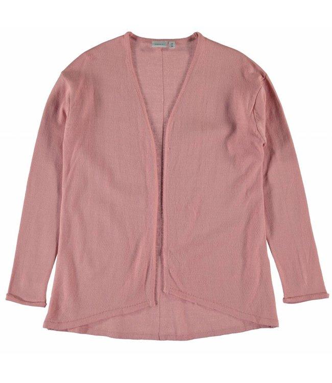 Name-it Name-it roze meisjes cardigan NITEMEKKO