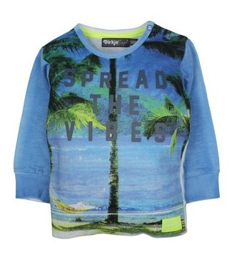 Dirkje kinderkleding Dirkje Babywear jongens sweater spread the vibes