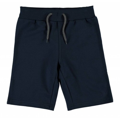Name-it Name-it jongens blauwe sweat kids short