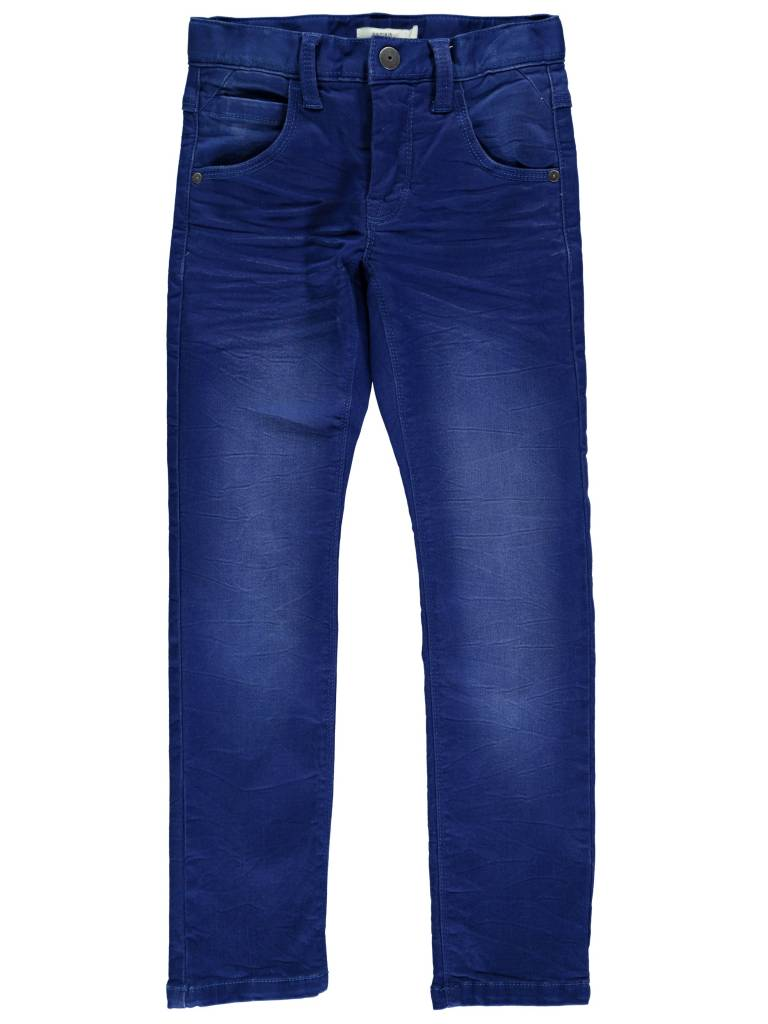 Name-it Blauwe jongens jeansbroek NITTIGGO Name-it