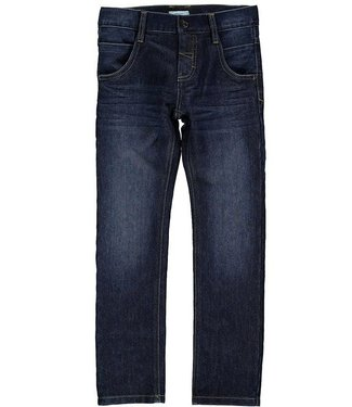 Name-it Name-it meisjes jeans denim broek NITALEXI dark blue
