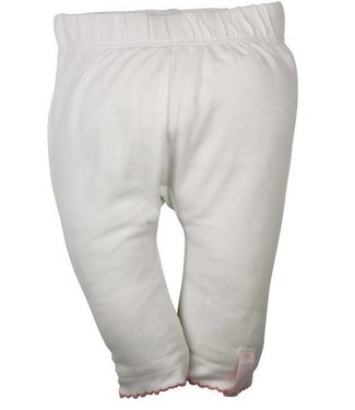Dirkje kinderkleding Dirkje babywear white girls leggings