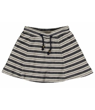 Hust & claire Hust & Claire blue striped skirt