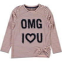 Roze t-shirt NITHAILY OMG Name-it