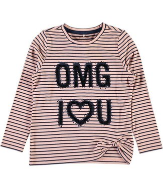 Name-it Roze t-shirt NITHAILY OMG Name-it
