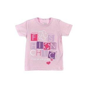 Name-it Name-it licht roze t-shirt Vana
