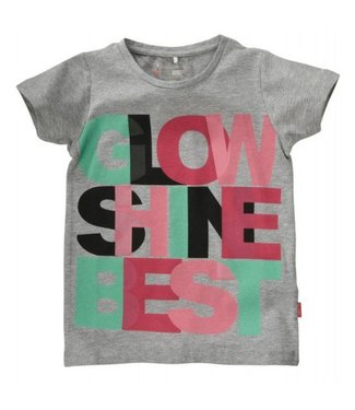 Name-it Name-it grijze meisjes t-shirt Esliva