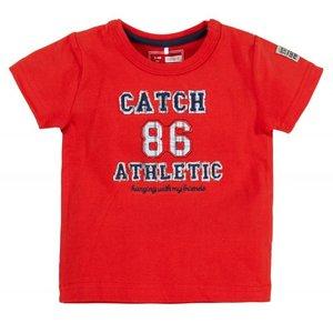 Name-it Jongens rode newborn tshirt HERO Name-it