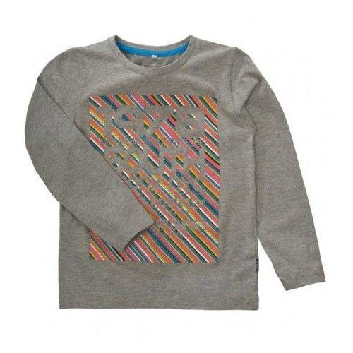 Name-it Grijze jongens t shirt KALIMO Name-it