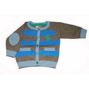 Name-it Bruine cardigan karsten Name-it