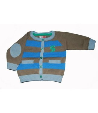 Name-it Bruine cardigan karsten Name-it