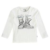Name-it witte meisjes t-shirt Lynea