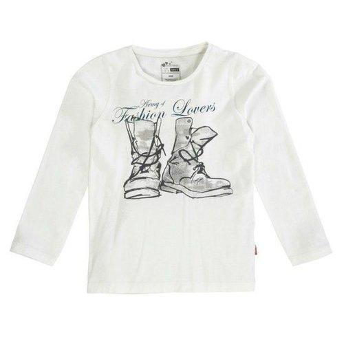 Name-it Name-it witte meisjes t-shirt Lynea