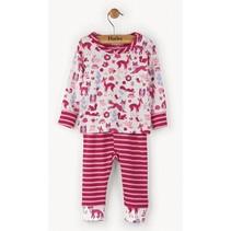 2-delige meisjes pyjama woodland Hatley