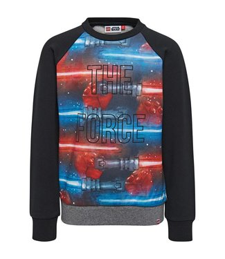 Lego wear Zwarte jongens sweater Star Wars - The force