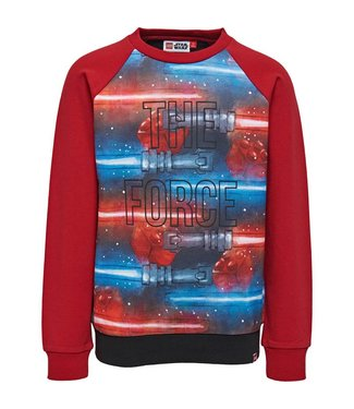 Lego wear Red boys sweater Star Wars - The force
