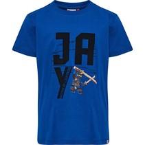 Blauwe jongens t-shirt Lego Ninjago Jay