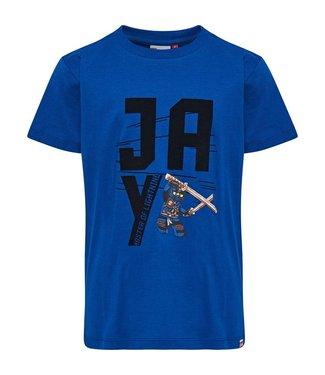 Lego wear Blauwe jongens t-shirt Lego Ninjago Jay