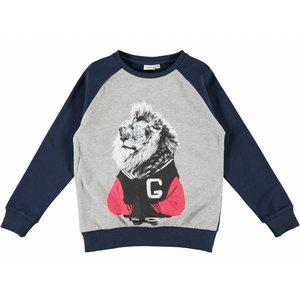 Name-it Blauwe jongens sweater NITJOEL Name-it