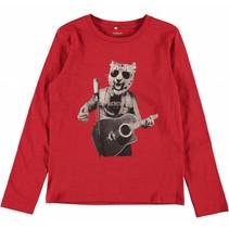 Rode jongens t-shirt NITKIGER Name-it