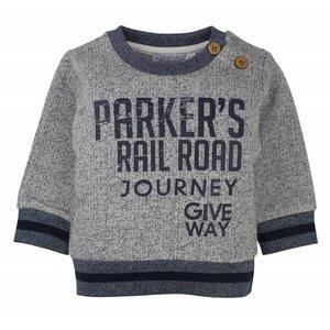 Dirkje kinderkleding Dirkje jongens sweater Parkers rail road