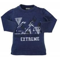 Dirkje blauwe jongens t-shirt Extreme
