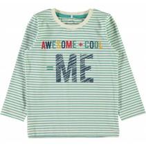 Groene t-shirt NITGERITTO Name-it