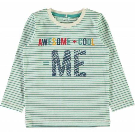 Name-it Groene t-shirt NITGERITTO Name-it