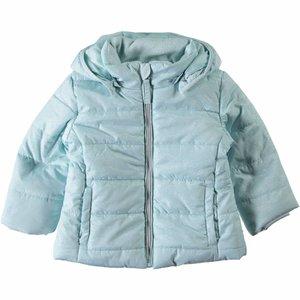 Name-it Meisjes licht blauwe winterjas NITMIT Name-it