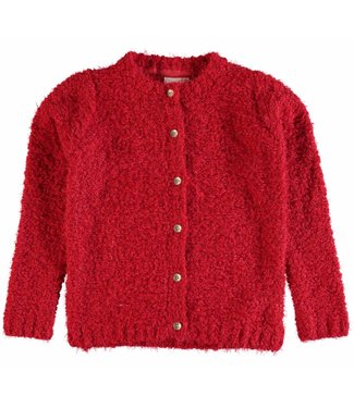 Name-it Girls red cardigan NITVILJA Name-it