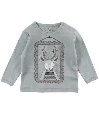 Fixoni Groene herten t-shirt Fixoni