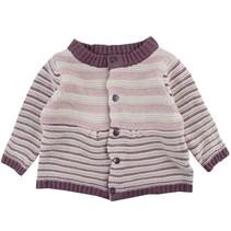 Meisjes knit cardigan stripes Fixoni