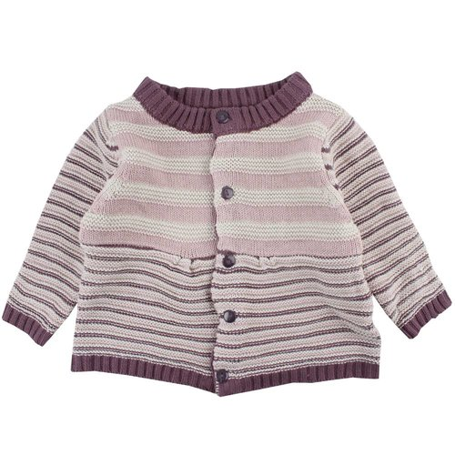 Fixoni Meisjes knit cardigan stripes Fixoni