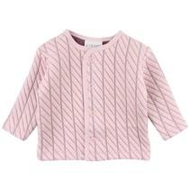 Roze sweat cardigan Fixoni