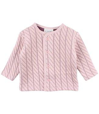Fixoni Pink sweat cardigan Fixoni
