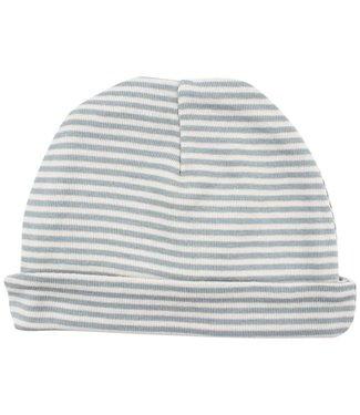 Fixoni Fixoni green striped hat