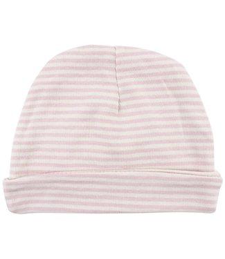 Fixoni Bonnet à rayures roses Fixoni