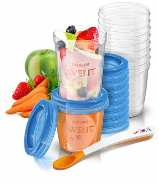 Avent Avent Natural snack set - storage jars